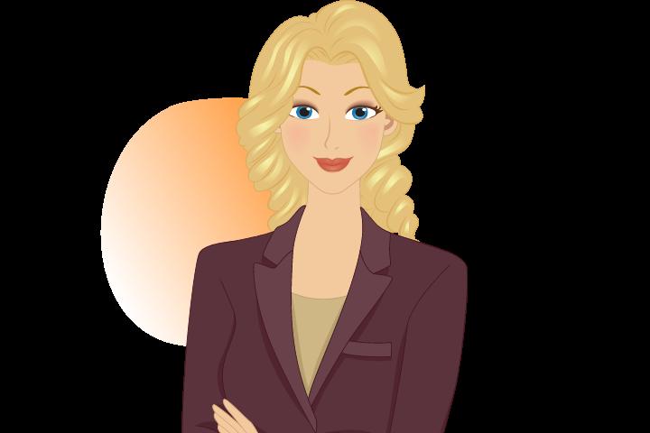 Frau-neuen-Job-suchen